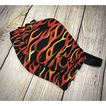 Flames Washable Face Mask - Protective Face Covering