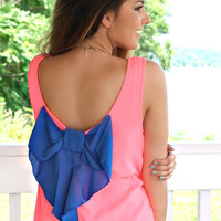 Do the Bright Thing Dress - Pink