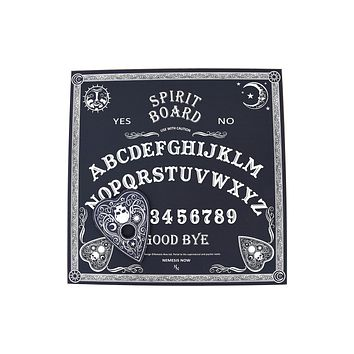 Ouija board, spirit game, talking board, wooden ouija occult game, gothic decor, halloween gift, witch