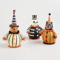 Vintage Halloween Figures Set of 3
