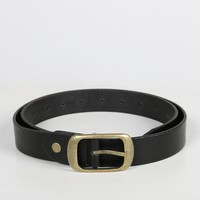 Antique Classic Belt - Black