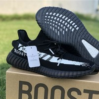 Off-White x Yeezy Boost 350 - Black/White