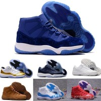 Beauty Ticks Cheap Retro 11 Basketball Shoes Low Men Women Retros Space Jam 11s Xi 72 Bred Red Velvet Heiress Femme Athletic Replicas Sports Sneake