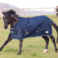 600D Water Resistant Canvas Turnout Blanket with Steeltex Rip-Stop nylon