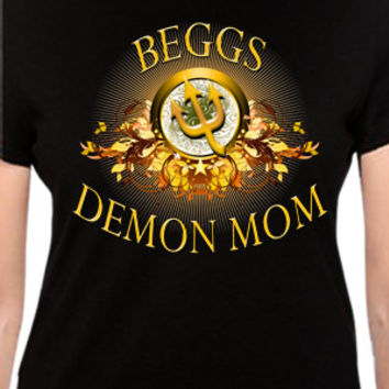 Beggs Demons Mom T-Shirt