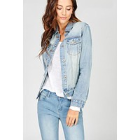 Santa Monica Denim Jacket - Light Wash