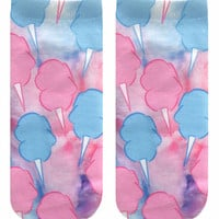 Cotton Candy Ankle Socks