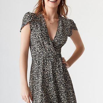 Rolla's X UO Dancer Mini Wrap Dress | Urban Outfitters