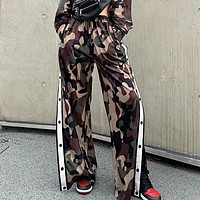 New fashion camouflage sports leisure pants women
