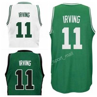 2017 New Team 11 Kyrie Irving Jersey 0 Jayson Tatum 7 Jaylen Brown 20 Gordon Hayward 42 Al Horford Jerseys 2 Green White Black Grey