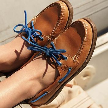 sperry nautical boat shoes