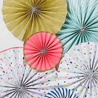 Pinwheel Party Decoration Set - Multi One
