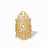 Fancy Filigree Knuckle Ring | Fashion Jewelry - Moroccan Muse | charming charlie