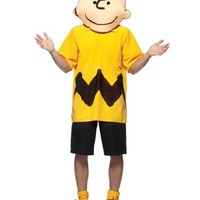 Adult Deluxe Peanuts Charlie Brown Costume