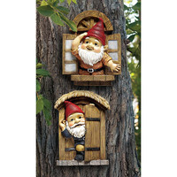 Park Avenue Collection S/2 Knothole Gnomes