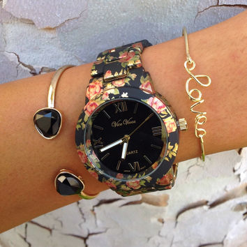 Nellie Floral Stack