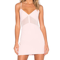 x Naven Twins Superior Dress in Blush Pink
