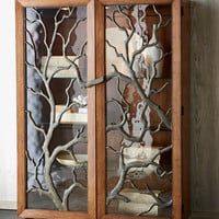 """""""Tree Branch"""" Display Cabinet - Horchow"""