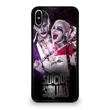 HARLEY QUINN SUICIDE SQUAD JOKER iPhone XS Max Case
