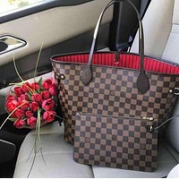 Louis VuittoLV Hot Sale Women Leather Handbag Tote Shoulder Bag Purse