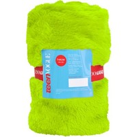 "Teen Vogue 50"" x 60"" Faux Fur Throw - Walmart.com"