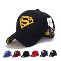 2016 NEW Brand SUPERMAN Polo Snapback Mens Golf Baseball Caps Women Fitted Adjustable Hat Gorras Planas Casquette Chapeau Homme