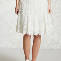 Tulle Embroidered Skirt