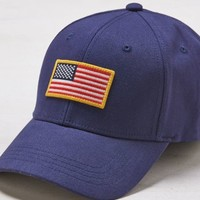 Flag Fitted Baseball Cap