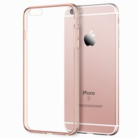 "JETech iPhone 6s Case Bumper for Apple iPhone 6/6s 4.7"" (Rose Gold)"