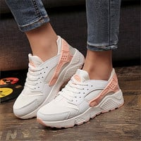 Fashion Trainers Women Casual Shoes Air Wedges Canvas Shoes Woman