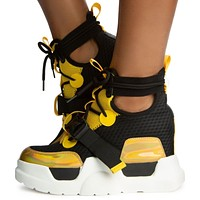 Mulberry-02 Chunky Sneakers