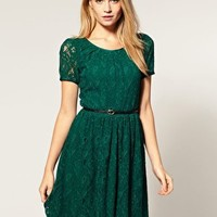 Oasis | Oasis Coloured Lace Dress at ASOS