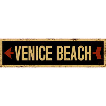 Personalized Black Gold Left Arrow Street Sign Wood Sign