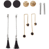 5 Pairs Earrings - from H&M