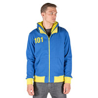 Vault 101 Hoodie Nuclear Winter Edition - Blue,