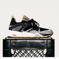 """Puma x Business as Usual - Blaze of Glory - """"Eat What You Kill"""" Collab - Black/White/Gold"""