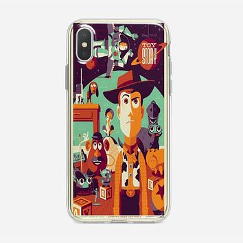 Toys Story Woody Film Art Disney Poster iPhone XS Case
