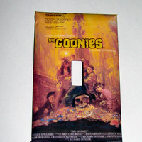 Light Switch Cover - Light Switch Plate The Goonies Movie Poster