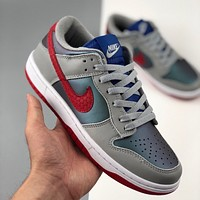 "Nike Dunk Low ""Samba"" Colorblock Low Top Sneakers Shoes"