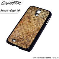 Woven Bamboo Wooden Case For Samsung Galaxy S4 Case