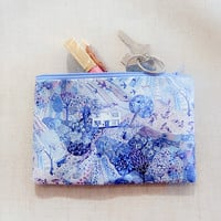 Pencil Case/ Make Up Bag/ Gift for Her/ Mothers Day Gift/ Gift for Mom/ Best Friend Gift/ Girlfriend Gift/ Gift for Wife/ Teacher Gift