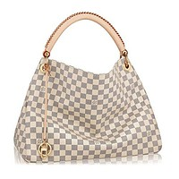 Louis Vuitton Damier Canvas Artsy MM Handbag Article:N41174