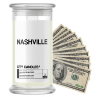 Nashville City Cash Candle