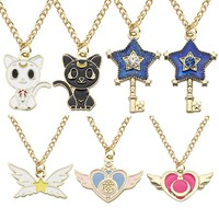 Sailor Moon Pendant Necklaces