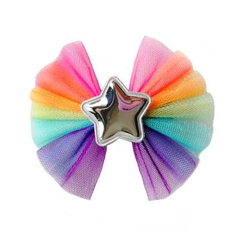 Tulle Star Hair Bow