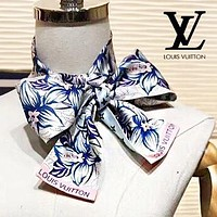 LV Louis Vuitton Trending Women Men Multi-Function Scarf Silk Scarves