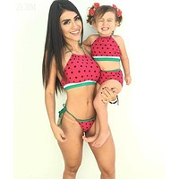 Family Matching Kids Outfits Swimsuit