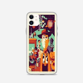 Toys Story Woody Film Art Disney Poster iPhone 11 Case