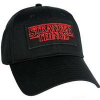 Stranger Things Hat Baseball Cap Alternative Clothing Supernatural Horror Sci Fi