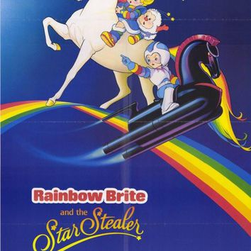 Rainbow Brite and the Star Stealer 11x17 Movie Poster (1985)